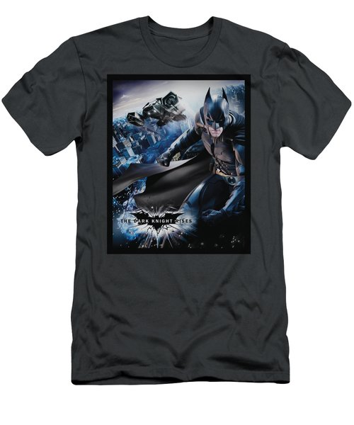Dark Knight Rises - Batwing Rises Men's T-Shirt (Athletic Fit)