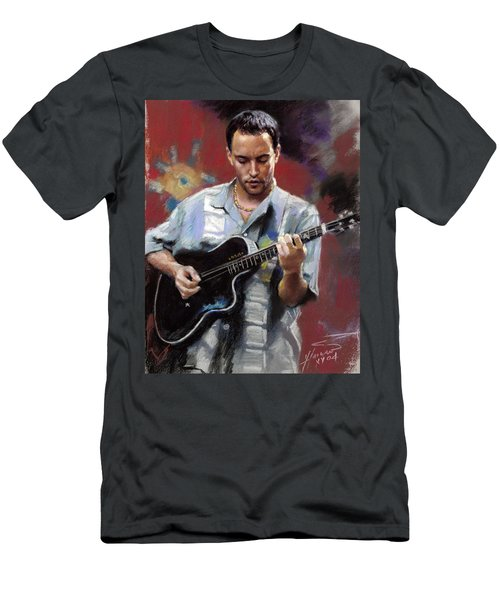 Dave Matthews Men's T-Shirt (Athletic Fit)