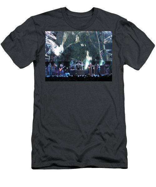 Dave Matthews Band Rocks Final Four Weekend Men's T-Shirt (Slim Fit) by Aaron Martens