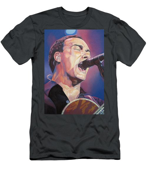Dave Matthews Colorful Full Band Series Men's T-Shirt (Athletic Fit)