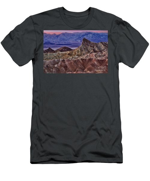 Men's T-Shirt (Slim Fit) featuring the photograph Dawn At Zabriskie Point by Jerry Fornarotto