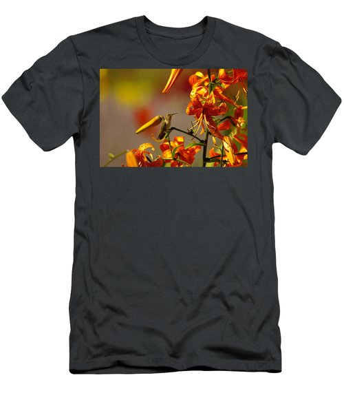 Day Dreaming In The Blooms Men's T-Shirt (Athletic Fit)