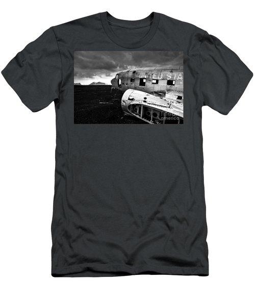 Dc-3 Iceland Men's T-Shirt (Slim Fit) by Gunnar Orn Arnason