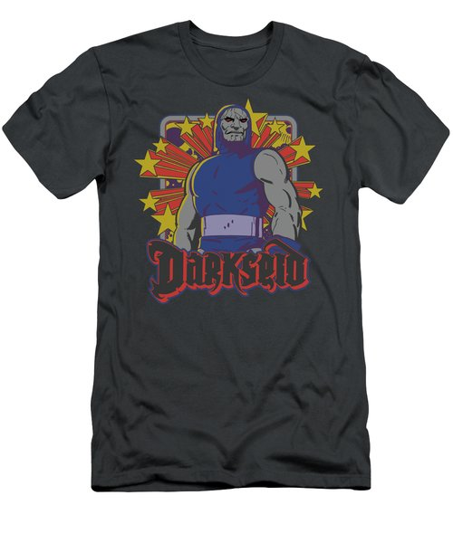 Dc - Darkseid Stars Men's T-Shirt (Athletic Fit)