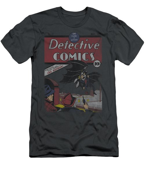 Dc - Detective #27 Distressed Men's T-Shirt (Athletic Fit)