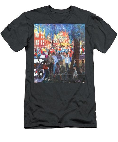 D.c. Market Men's T-Shirt (Slim Fit) by Leela Payne