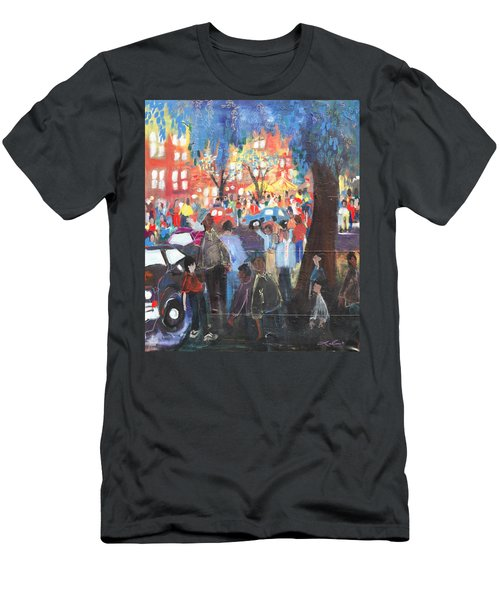 D.c. Market Men's T-Shirt (Athletic Fit)