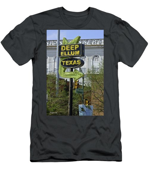 Deep Ellum Texas Men's T-Shirt (Athletic Fit)
