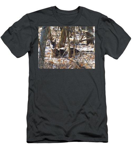 Deer Impressions Men's T-Shirt (Athletic Fit)
