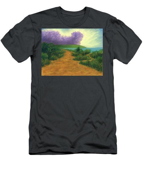 Del Mar Trails 03 Men's T-Shirt (Athletic Fit)