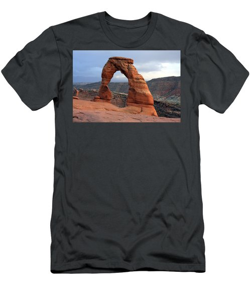 Delicate Arch - Arches National Park - Utah Men's T-Shirt (Slim Fit) by Aidan Moran