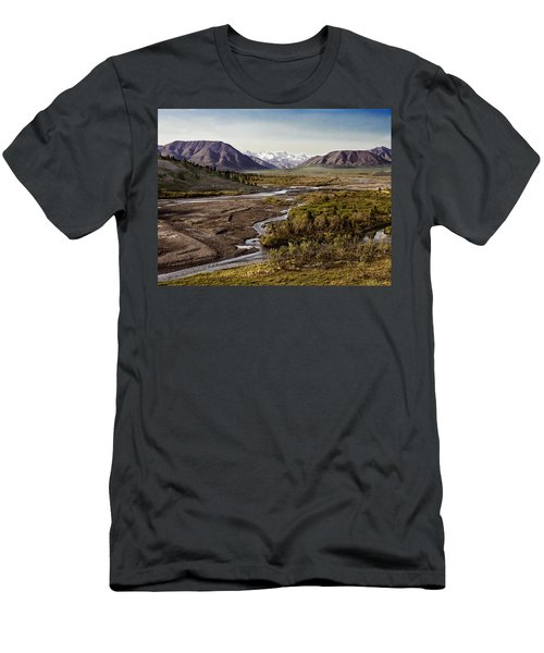 Denali Toklat River Men's T-Shirt (Athletic Fit)