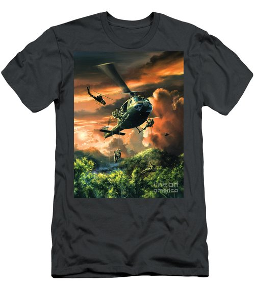 Descent Into The A Shau Valley Men's T-Shirt (Athletic Fit)