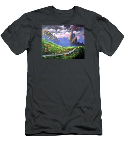 Desert Mountains Men's T-Shirt (Athletic Fit)
