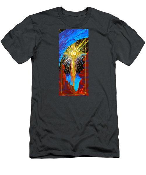 Desert Star  Men's T-Shirt (Slim Fit) by Alan Johnson