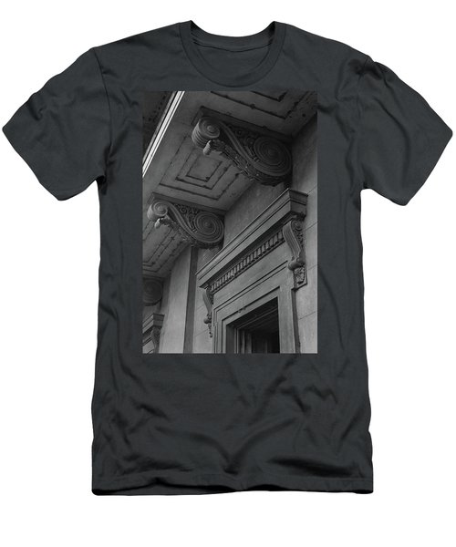 Detail Of Exterior Molding At A Plantation Home Men's T-Shirt (Athletic Fit)