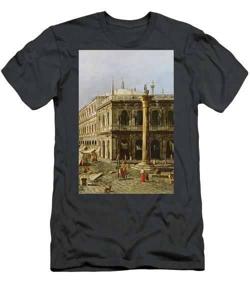 Detail Of Palazzo Della Zecca Men's T-Shirt (Athletic Fit)