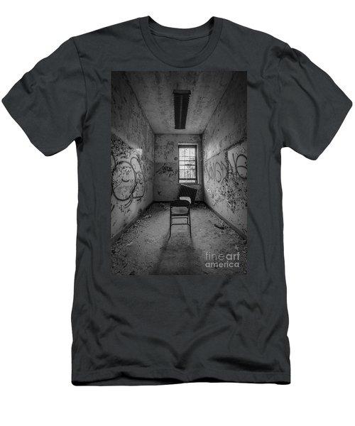 Detention Room Bw Men's T-Shirt (Athletic Fit)