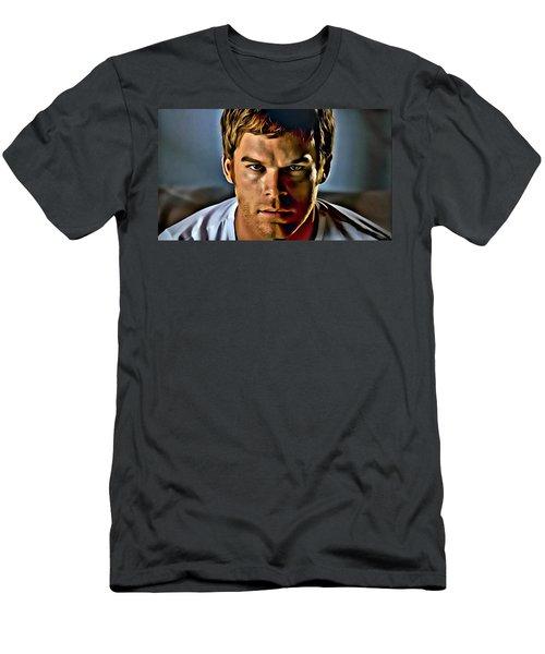 Dexter Portrait Men's T-Shirt (Athletic Fit)