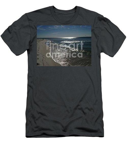 Diamond Mine Men's T-Shirt (Slim Fit) by Laurie L