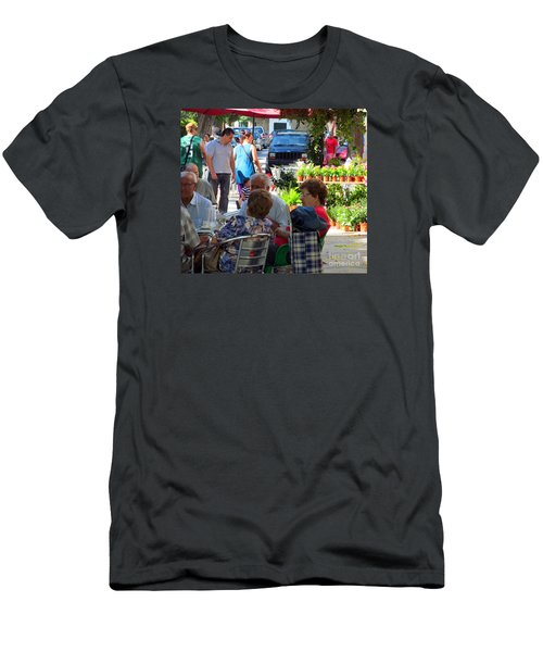 Men's T-Shirt (Slim Fit) featuring the photograph Did You Say You Went On Vacation? by Tina M Wenger