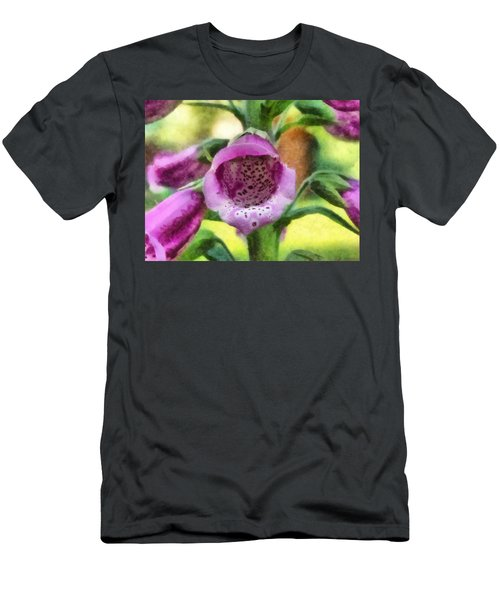 Digitalis Purpurea Men's T-Shirt (Athletic Fit)