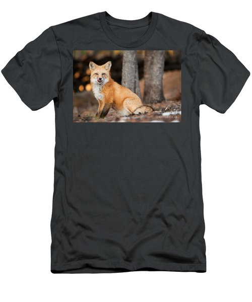 Men's T-Shirt (Athletic Fit) featuring the photograph Dinner Was Good by John Wadleigh