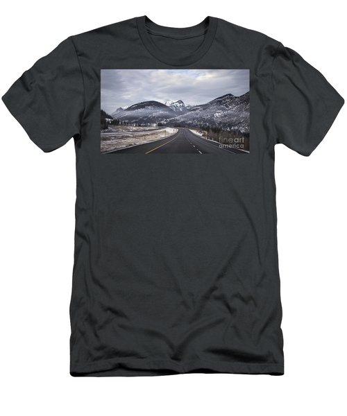 Distance Is Near Men's T-Shirt (Athletic Fit)