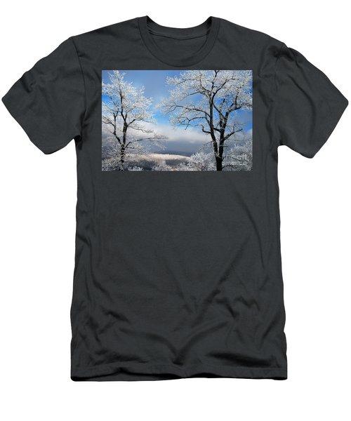 Distant Storms Men's T-Shirt (Athletic Fit)
