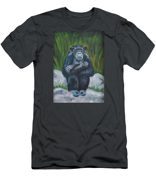 Do No Evil Men's T-Shirt (Athletic Fit)