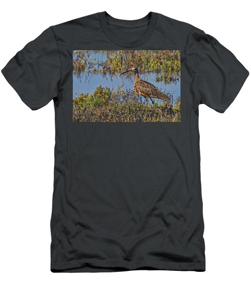 Men's T-Shirt (Slim Fit) featuring the photograph Do You Like My Stylish Beak by Gary Holmes