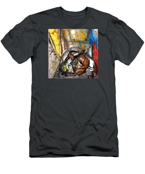 Dogs Dinner Men's T-Shirt (Athletic Fit)