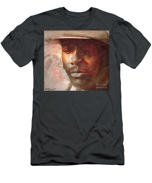 Donny Hathaway Men's T-Shirt (Athletic Fit)