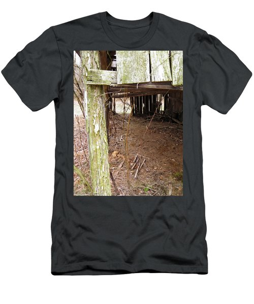 Men's T-Shirt (Slim Fit) featuring the photograph Doorway To The Past by Nick Kirby