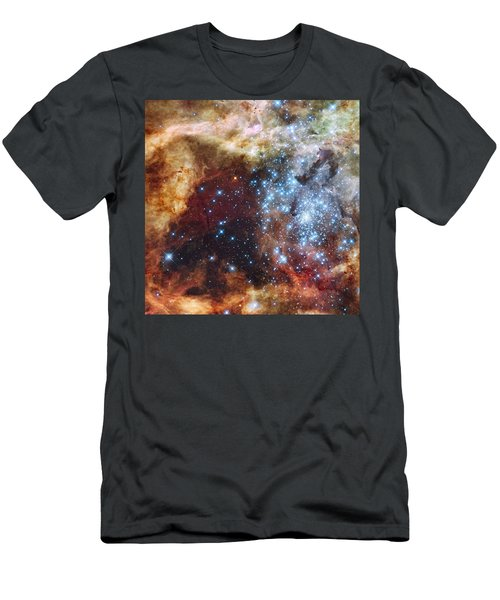 Doradus Nebula Men's T-Shirt (Athletic Fit)