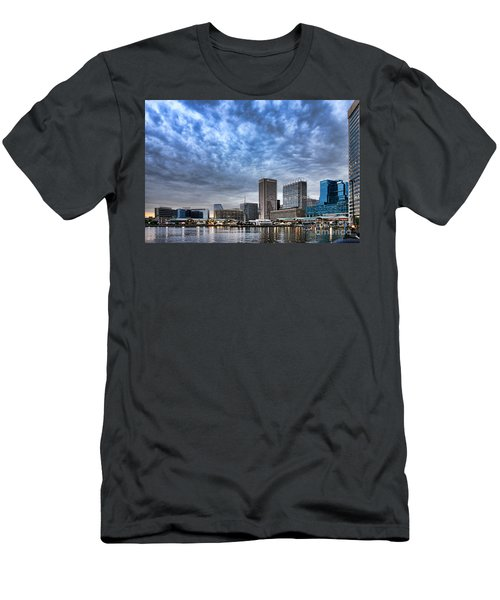 Downtown Baltimore Men's T-Shirt (Athletic Fit)