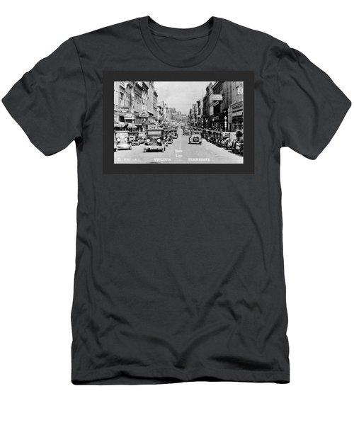 Downtown Bristol Va Tn 1931 Men's T-Shirt (Athletic Fit)