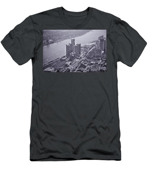 Downtown Detroit Men's T-Shirt (Athletic Fit)