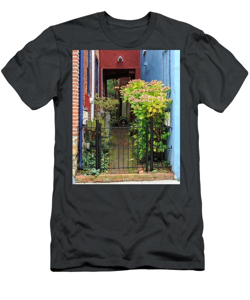 Downtown Garden Path Men's T-Shirt (Athletic Fit)