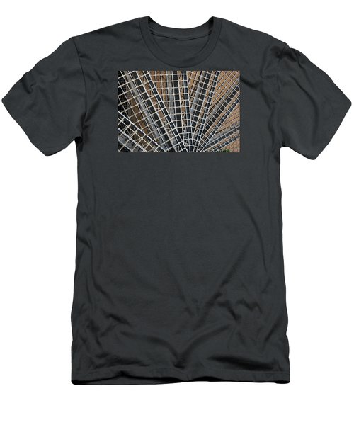 Men's T-Shirt (Slim Fit) featuring the photograph Downward Spiral by Wendy Wilton