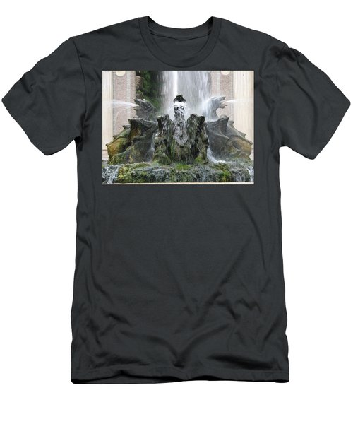 Dragon Fountain Men's T-Shirt (Athletic Fit)