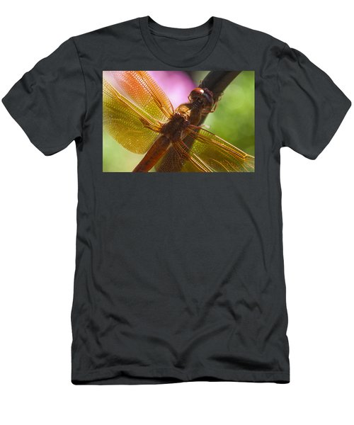 Dragonfly Patterns Men's T-Shirt (Athletic Fit)