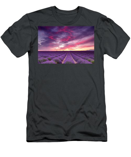 Drama In The Sky Men's T-Shirt (Athletic Fit)