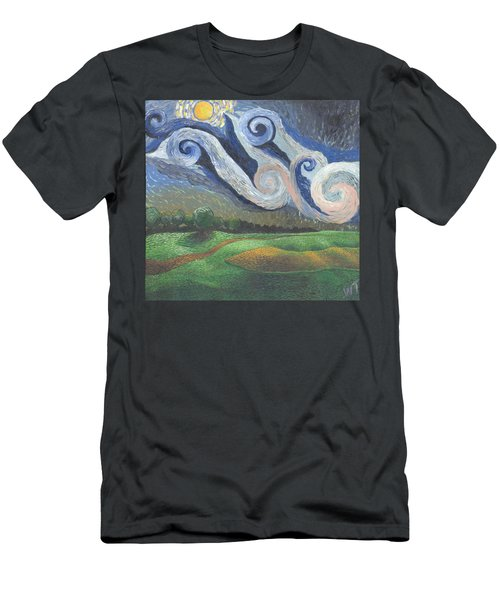 'dreamy Sky' Men's T-Shirt (Athletic Fit)
