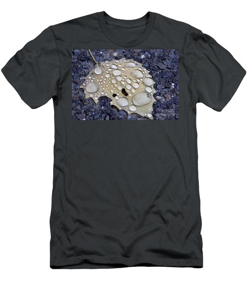 Drenched Leaf Men's T-Shirt (Athletic Fit)
