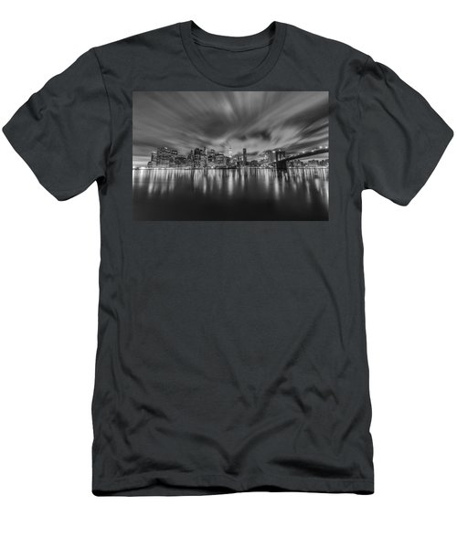 Men's T-Shirt (Athletic Fit) featuring the photograph Drift by Johnny Lam