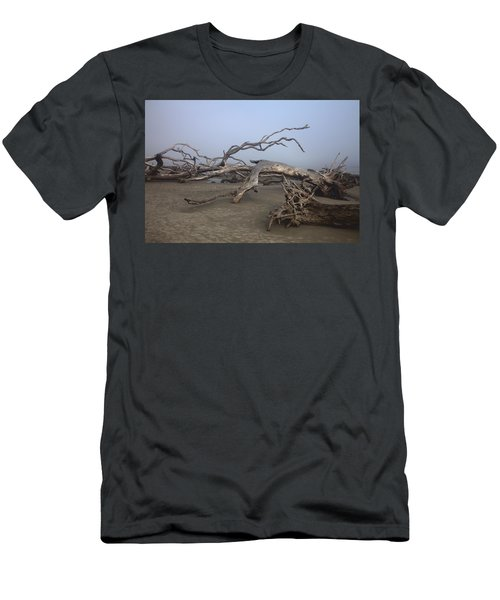 Driftwood Trees On Jekyll Island Men's T-Shirt (Athletic Fit)