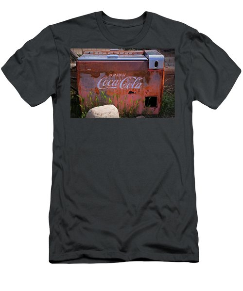 Drink Coca Cola Men's T-Shirt (Slim Fit) by Lynn Sprowl