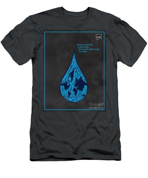 Drop In The Ocean Men's T-Shirt (Athletic Fit)