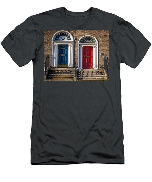 Dual Doors Men's T-Shirt (Athletic Fit)